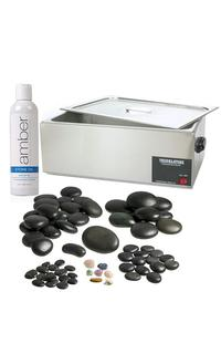 Amber Stone Heater - Salon supplies