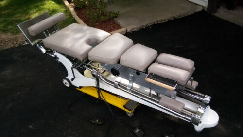 Zenith 440 Ci Base Hylo Table W Auto Pelvic Lumbar Dorsal